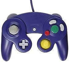 OSTENT Classic Controller Metallica di vibrazione Joypad viola per Nintendo Wii Gamecube NGC