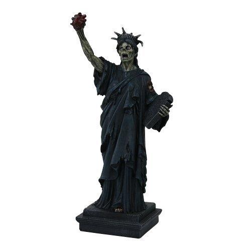 PTC Estatua Libertad Zombie Estatua Estatua