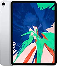 """Apple iPad Pro 11"""" (2018 - 3rd Gen), Wi-Fi, 64GB, Silver [With Face"""