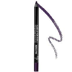Aqua Eyes Waterproof Eyeliner Pencil - 6L (Black with Purple Highlights) 1.2g/0.04oz
