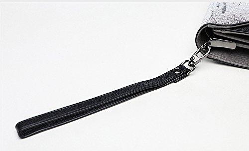 Handtasche, Damen Handtasche, Mode Korean Leder Handtaschen, kleine Taschen, Damen Bankett Abendessen Paket ( Farbe : Braun ) Weiß