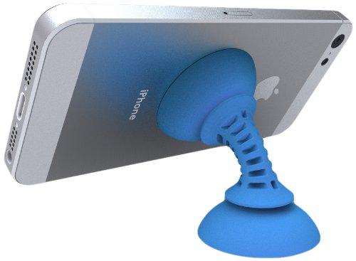 Striker Simple Suker Doppia Ventosa ad Alta Resistenza per Smartphone, Azzurro