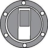 Bike It Aufkleber-Folie für Tankdeckel - Carbon-Look - Yamaha >99 - 7 Schrauben