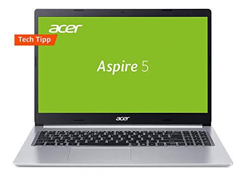 Acer Aspire 5 (A515-54G-59WR) 39,6 cm (15,6 Zoll Full-HD IPS matt) Multimedia Laptop (Intel Core i5-8265U, 8 GB RAM, 512 GB PCIe SSD, NVIDIA GeForce MX250, Win 10) Silber Aluminium