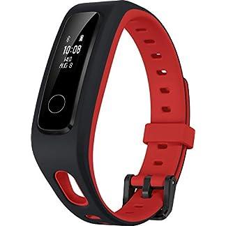 HONOR Band 4 Running Pulsera de Actividad Negro, Rojo OLED 1,27 cm (0.5″) – Rastreadores de Actividad (Pulsera de Actividad, Negro, Rojo, Negro, Rojo, Poliuretano, 50 m, OLED)