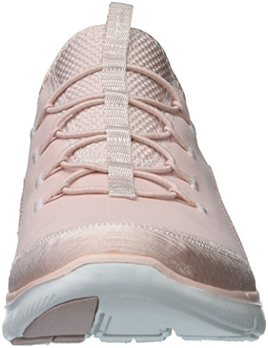 Skechers 12903 Flex Appeal 2.0 - Mixed Media Shoes Light Pink