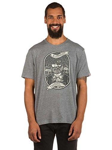 Herren T-Shirt Element Anonymous T-Shirt Grey Heather