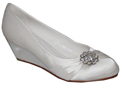 Absolutely Gorgeous Boutique , Escarpins pour femme blanc cassé ivoire - blanc cassé - ivoire, 38