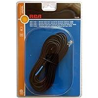 DSL Splitter-Kabel TAE-F auf Westernstecker RJ11, Länge 10m, für DSL Splitter und ISDN NTBA
