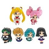 CoolChange Figura Decorativa Chibi di Sailor Moon, 6 Pezzi