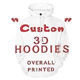 Personalisierte Unisex 3D Gedruckte Hoodies Galaxie Kleidung Neuheit Jugend Sweatshirt Pullover Hoodies für Männer/Frauen / Paar/Eltern-Kind-Kostüme mit Tasche