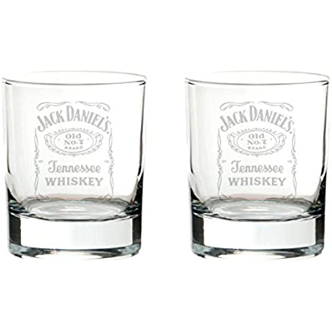 2Jack Daniel 's Bourbon vasos