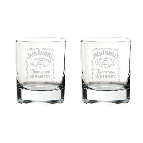 Jack Daniel's bourbon 2 bicchieri