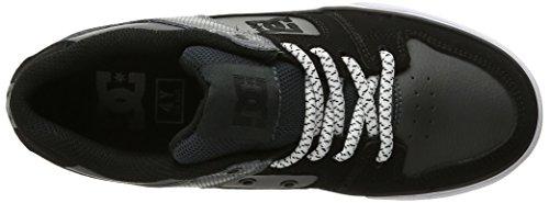 DC - - Jungen rein elastischen Schuh Grey/Black/Grey