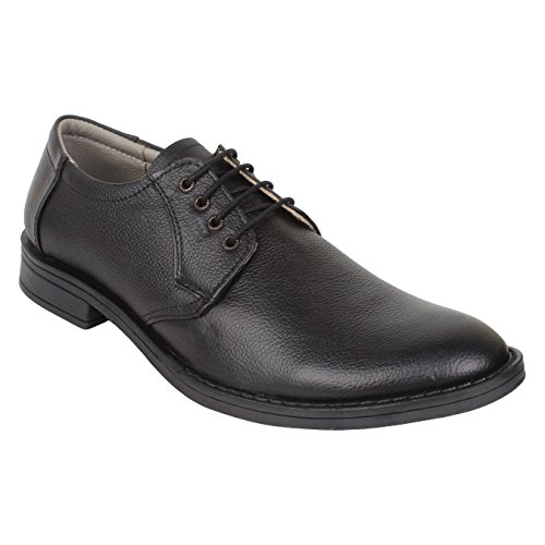SeeandWear Formal Shoes for Men. Pure Leather Branded Black Lace Up Shoe