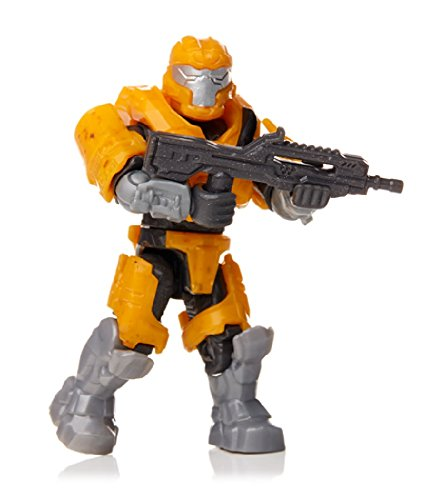 1x Mega Bloks Halo Foxtrot Series orange JFO Spartan Mini-Figure Minifigur (Halo-orange-action-figuren)