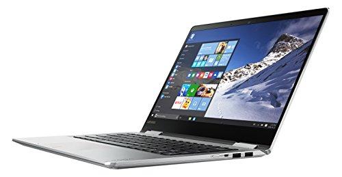 """Lenovo Yoga 710-14IKB,computer portatile convertibile da 14"""" argento 512 GB SSD"""
