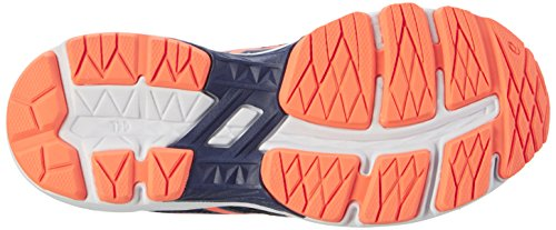 Asics Gt-1000 5 Gs, Chaussures de Running Compétition Mixte Enfant, Bleu Multicolore (Indigo Blue / Hot Orange / Thunder Blue)