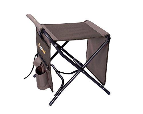 Oztrail Travel Mate – Table, Tabouret et Repose-Pieds Fce-rvsm-d 3.2 kg. 64 x 41 x 52 cm Capacité de Poids 100 kg. Solide Cadre en Acier 19 mm. Idéal pour n'importe Quel Camp Chaise.