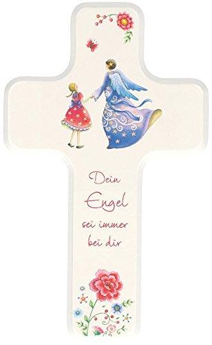 Dein Engel sei immer bei dir: Kinderholzkreuz