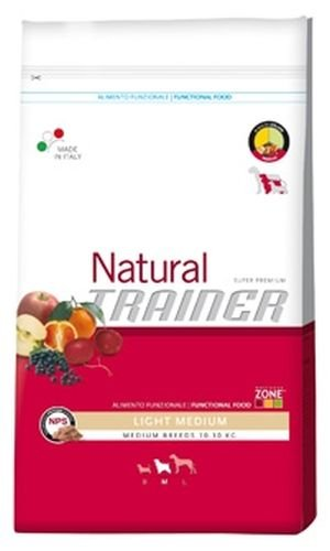 Trainer Natural - Natural Trainer Light Medium per Cani - Sacco da 3 Kg