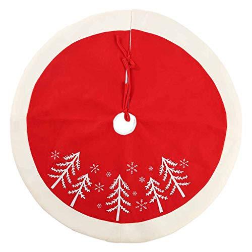 WARMWORD Falda de árbol de Navidad