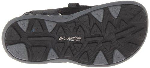 Columbia Techsun, einschließlich Wind, Regen, Unisex-Kinder Stiefel Black/Columbia Grey