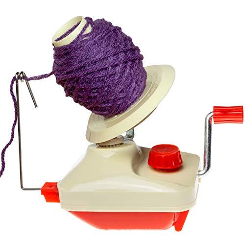 Faden & Nadel Wollwickler (Garnwickler, Knäuelwickler) zum Wickeln von Wolle u. Garn, Befestigung am Tisch möglich