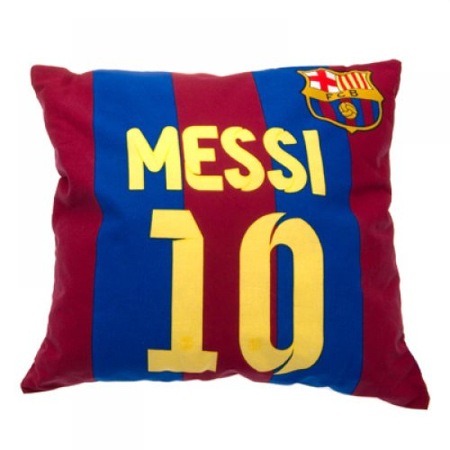 Gift Ideas - Official FC Barcelona Messi Cushion - A Great Present For Football Fans
