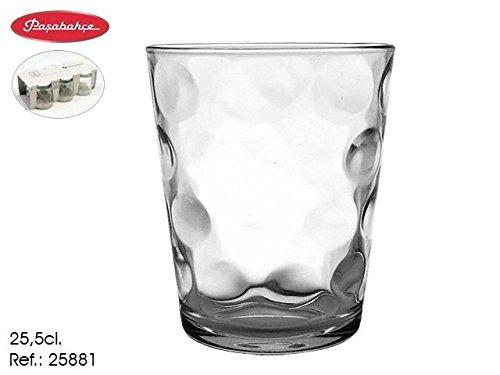 Estuche 6 Vasos agua Toros- Space 26 CL Pasabahçe