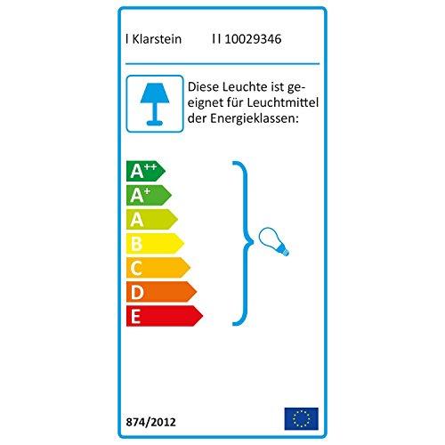Klarstein Figo Ventilator Deckenventilator mit Beleuchtung und Fernbedienung 52