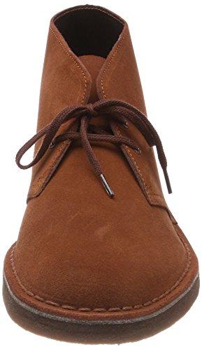 Clarks Boot Stivali Desert Boots Uomo Marrone mahogany