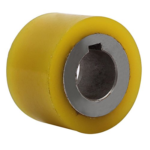 ZCHXD 2.4-inch Outer Diameter Polyurethane Pinch Roller Rolling Wheel for Woodworker - Pinch Roller