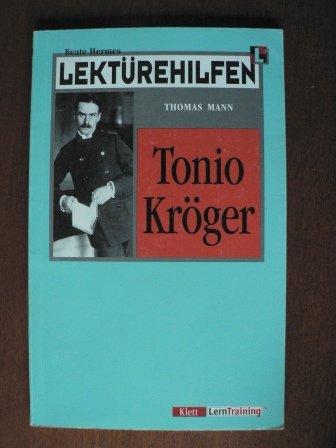 Lektürehilfen Thomas Mann 'Tonio