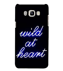 Wild At Heart 3D Hard Polycarbonate Designer Back Case Cover for Samsung Galaxy J7 (6) 2016 Edition :: Samsung Galaxy J7 (2016) Duos :: Samsung Galaxy J7 2016 J710F J710FN J710M J710H