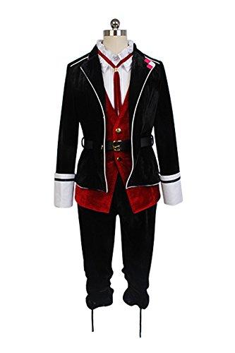 Kanato Sakamaki Kostüm (Diabolik Lovers Sakamaki Kanato Cosplay Kostüm Herren)
