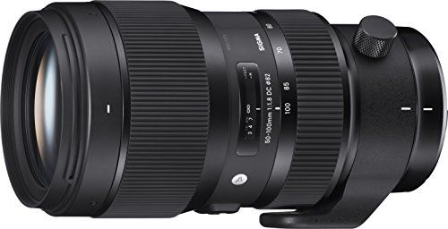 Sigma 50-100mm F1,8 DC HSM Art Objektiv (82mm Filtergewinde) für Canon Objektivbajonett - 50 Mm Sigma-objektiv