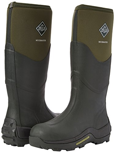 Here is a durable and sturdy pair that's popular among hunters and farmers. They boast a sleek appearance that lets you look smart in your adventures. The boots are incredibly warm thanks to neoprene interior construction while at the same time breathable owing to a mesh material. With their magnificent grip on the outsole, you'll be sure to take on any terrain. Moreover, these can be worn by both men and women and are a cheaper alternative to the Aigle wellies while still being a premium pair of wellies that will last.