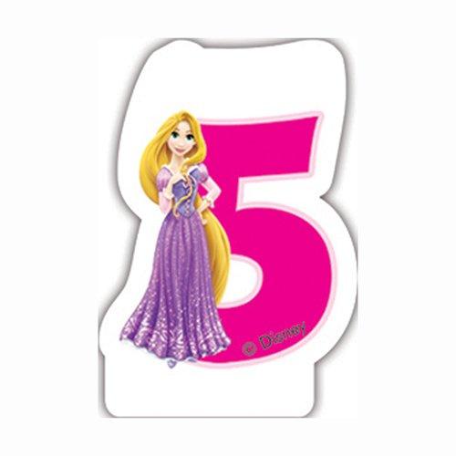 Tiere 5. Geburtstag Kerze (Rapunzel Geburtstag)