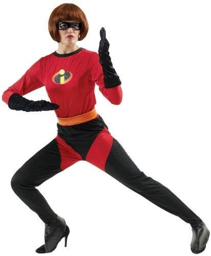 DISNEY ~ Mrs Incredible - Adult Costume Lady : (Kostüme Incredibles)