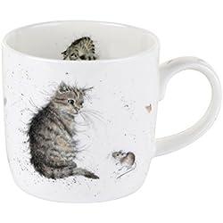 Wrendale de gato y ratón de taza