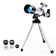 Idea Regalo - Telescopio Astronomico Rifrattore Zoom HD Monoculare Spazio Telescopio con Treppiede, perfetto per Bambini e Principianti - Ranipobo