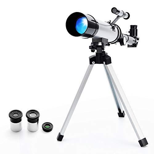 Télescope Portable Astronomique Réfracteur Zoom HD Monoculaire...