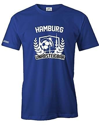 HAMBURG – UNABSTEIGBAR – HERREN – T-SHIRT