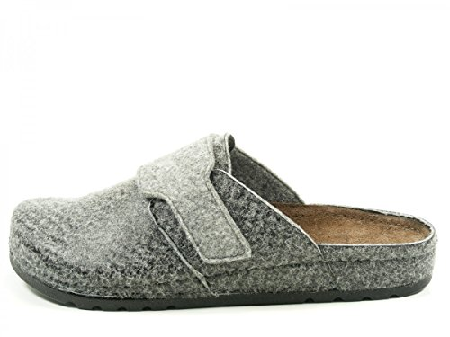 Rohde Riesa H, Chaussons Mules Homme Gris