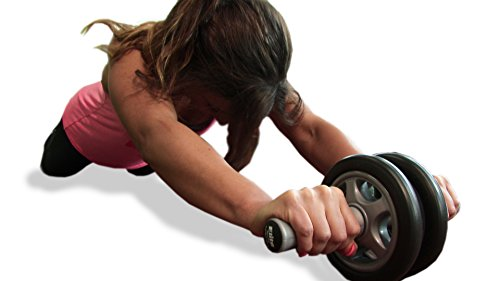 Elite Sportz Ab Roller - Bauchtrainer das duale Raddesign bedeutet, dass KEIN WACKELN auftritt Abbildung 3