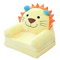 RAILONCH Baby Sofa Seat Cartoon Plush Seat Soft Removable Sofa Chair Washable Baby Support Seat Cushion for Toddlers Children Kids