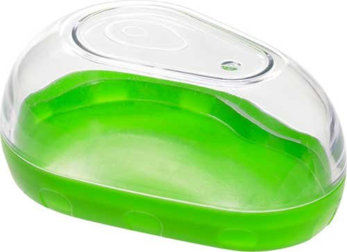 prepworks-by-progressive-green-stackable-avocado-keeper-with-clear-snap-on-lid
