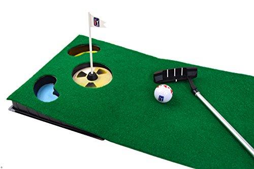 PGA TOUR Indoor Putting Set – Putting Matte mit Putter - 5