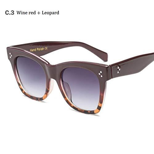 MoHHoM Sonnenbrille Hot Cat Eye Berühmtheit Kim Kardashian Sonnenbrillen Luxus Sonnenbrille Frauen Lady Übergroße Rahmen Eyewear Wein Rot